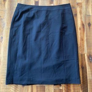Black pencil skirt size 10